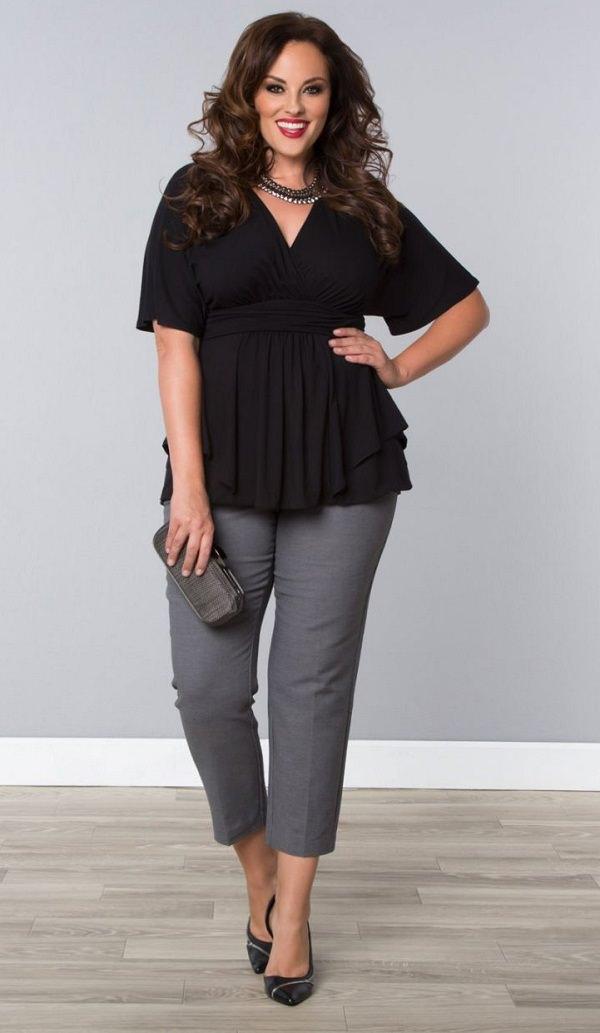conseils et astuces de mode pour les femmes grandes tailles pour paraître moins grandes